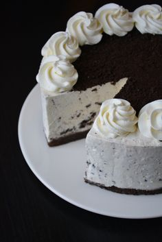 Easy recipe for the delicious Oreo cheesecake – fines. Oreo Cheesecake, Best Chocolate Cheesecake, Chocolate Cheesecake Recipes, Homemade Cheesecake, Easy Cheesecake Recipes, Easy Cake Recipes, Sweet Recipes, Classic Cheesecake, Oreo Desserts