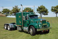 vintage mack trucks | july 2009 old time trucks matt pfahl s old favorite by…