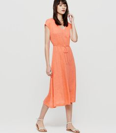 With a luxe heavier weight, our designers were drawn to the softness, unbeatable sheen and natural fibers of this linen fabric. V-neck. from natural waist. Stitch Fix Stylist, Linen Fabric, Frocks, Short Sleeve Dresses, Short Sleeves, High Neck Dress, Style Inspiration, Stylish, My Style