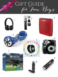 Evolution of Style: Gift Guide for Teen Boys + Giveaways Galore!