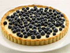 Blueberry-Lemon Tart