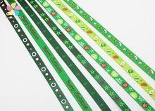 """5 metros de 3/8 """"10mm de Impressão de Fita de Gorgorão Arcos Festa de Natal Decor Craft 040048006 (10)(China (Mainland))"""