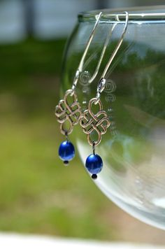 Edwardian Style Broken China Necklace & Earrings by BayouGlassArts, $59.00