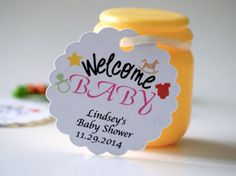 Baby shower favor tags favor tags personalized by PaperLovePrints #pcfteam