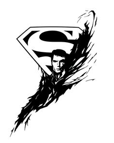 Superman tattoo design - NEW by p--O--w.deviantart.com on @deviantART
