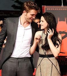 Robert Pattinson and Kristen Stewart!