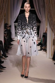 Giambattista Valli Haute Couture SS12  [maybe... organza butterflies on the shawl?]