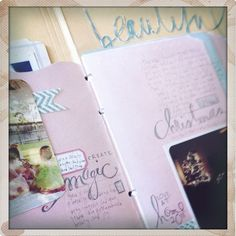 Love the journaling and the empty space