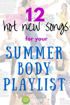 Hot new songs for your workout playlist featuring Sage the Gemini, Nick Jonas, Chris Brown, Kendrick Lamar, Miranda Lambert and more! Gotta get summer body ready, and these are perfect for a cardio playlist, running playlist or circuit training! I work out to all of these!