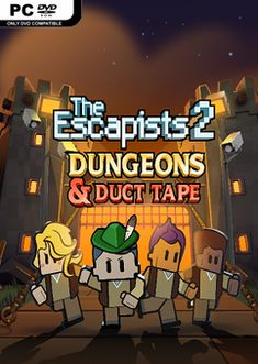 The Escapists 2 Dungeons and Duct Tape-PLAZA - Simulation Game Pc Games, Video Games, The Escapists, Game Title, Adventure Games, Simulation Games, Strategy Games, Indie Games, Duct Tape