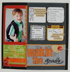 Makin' The Grade *New LYB* - Scrapbook.com