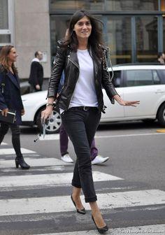Emmanuelle Alt toujours, rock et classe!
