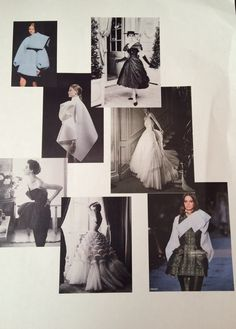 Mood board of sculptural fashion and Christian Dior Liberty Fashion, Fashion Competition, My Muse, Sculptural Fashion, 1940s Fashion, Fabric Samples, Christian Dior, Sculptures, Mood