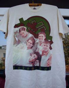 RaRe vintage Take That 1994 UK tour cotton Large t-shirt   #fruitoftheloom