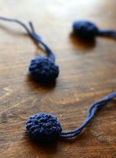 crochet button covers