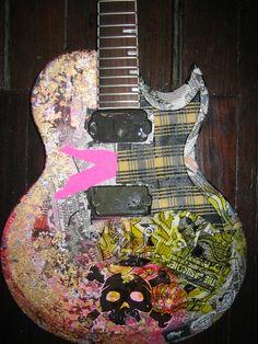 1000 images about cullen 39 s guitar on pinterest guitar for Acoustic guitar decoration ideas