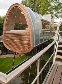 Modern Tree Houses : Los Molles House