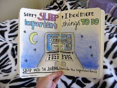 wreck this journal haha funny idea for this page