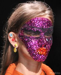 Sparkling Stones Beauty Trend 2016 #trendstop #beauty This image: Givenchy (as seen on Trendstop.com)
