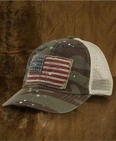 Denim & Supply Ralph Lauren Hat, Sumpter Trucker Hat - Mens Denim & Supply Accessories - Macy's