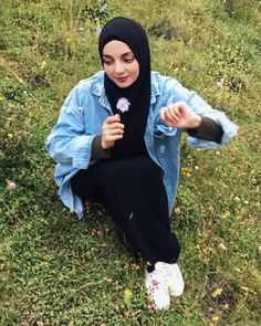 Image may contain: one or more people, eyeglasses, outdoor and nature Celebrity Fashion Outfits, Celebrity Style, Hijab Styles, Hijab Fashion, Eyeglasses, Celebrities, Nature, People, Outdoor