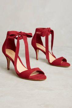 Schutz Tilan Ankle-Tie Heels
