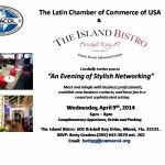 An Evening of Stylish Networking at The Island Bistro