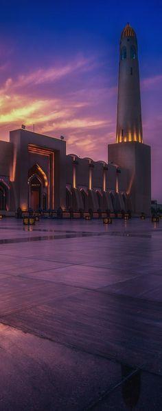 Qatar State Mosque, Doha, Qatar