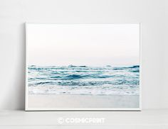 Ocean PRINTABLE Art, Nordic Art Print Scandinavian Art Print Minimalist Art Beach Shore Wall Art Digital Ocean Photography, home decor Nordic Art, Scandinavian Art, Beach Condo Decor, Digital Ocean, Beach Posters, Beach Wall Art, Beach Print, Ocean Photography, Minimalist Art