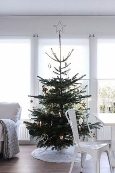 Let the holiday traditions of countries like Denmark, Finland, Norway, and Sweden inspire you this season. Long winter nights in … Scandinavian Christmas Decorations, Nordic Christmas, Modern Christmas, Christmas Tree Decorations, Holiday Decor, Scandinavian Holidays, Merry Christmas, Christmas Mood, Christmas 2019