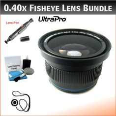NEW 49mm 0.40x High Definition Fisheye Lens with Macro Attachment for the Panasonic HC-X900m , X900 Camcorders. Includes 0.40x High Definition Fisheye Lens with Macro Attachment, Lens Pen Cleaner, Cap Keeper, UltraPro Deluxe Cleaning Kit Reviews - http://slrscameras.everythingreviews.net/9713/new-49mm-0-40x-high-definition-fisheye-lens-with-macro-attachment-for-the-panasonic-hc-x900m-x900-camcorders-includes-0-40x-high-definition-fisheye-lens-with-macro-attachment-lens-pen-cl