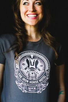 Just one of our IHH t-shirts in Mercantile!