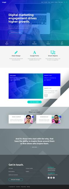 Minimal powerpoint template powerpoint pptx black and white pptx zoggl marketing website psd template website download https themeforestitemzoggl marketing website psd template20037130refpxcr toneelgroepblik Gallery