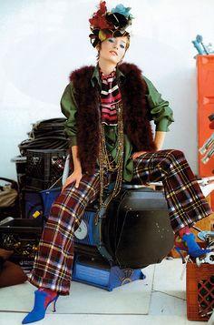 Arthur Elgort for Vogue UK, December 1992.