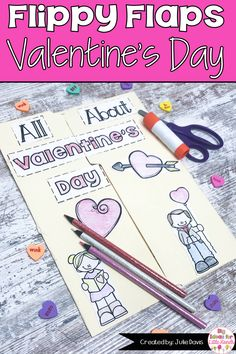 Are you looking for a fun, engaging approach to teach your students about Valentine's Day? This holiday interactive notebook is a great hands-on way to teach kids about these kindness & friendship. These worksheet activities for Kindergarten, 1st, & 2nd Grade Elementary kids are fun for students to create. Templates included in this lapbook pack is graphic organizers, writing prompt, traditions, facts book, vocabulary, cupid labeling and more! #interactivenotebook #valentinesday #tpt