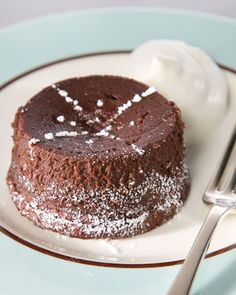 This recipe for individual chocolate cakes is courtesy of fashion designer Ralph Rucci.