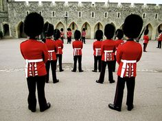 Windsor Castle... love English guards