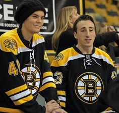 Tuukka Rask and Brad Marchand...every time I see them together it brings back the memories :)