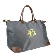 Personalized With Embroidery Grey Faux by monogrammedmemories, $29.95
