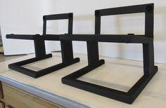 Pedestal, Speaker Stands, Audio Rack, Diy Speakers, Audio Design, Pocket Doors, Modern Industrial, Floor Chair, Man Cave
