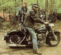 Panhead amazing the places we took are bikes. Back in the day these wannabes could not keep up. With all off roading we did....lmao