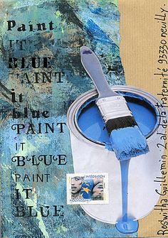 Mail Art de Christine Le ROy