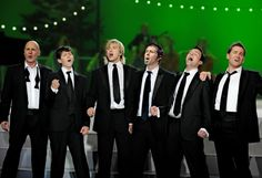 Original Celtic Thunder: George Donaldson, Damian McGinty, Keith Harkin, Neil Byrne, Ryan Kelly, and Paul Byrom