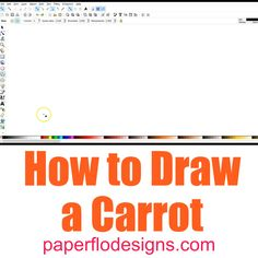 Learn how to draw a carrot. This would be cute for Easter bunny crafts, baby nursery decorations and spring theme DIY gifts. Paper Drawing, Drawing Tips, Carrot Drawing, Draw A Snowman, Calligraphy Tools, Explanation Text, Most Beautiful Animals, Spring Theme, Pencil And Paper