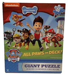 Paw Patrol Giant Puzzle All Paws on D... (bestseller)