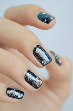 Star dust nails