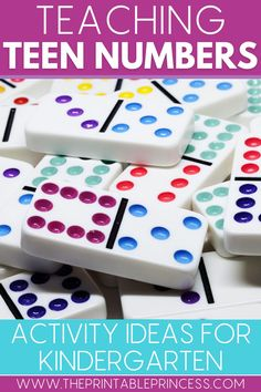 Are you looking for effective and engaging ways to teach those tricky teen numbers? Check out these 6 fun ways to teach numbers 11-19 with hands-on and exciting teen number activities to help your students build their number sense. #teennumbers #trickyteens #numbersense #iteachk #kindergartenclassroom