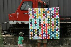 edges and angles quilt | Flickr - Photo Sharing!
