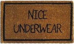 the best doormat ever!