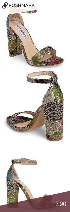 Steve Madden ‼️Brand New‼️ Carrson Sandal ‼️price form ‼️ but will do 80$ thru 🅿️🅿️al🙂 Steve Madden Shoes Heels
